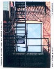 Thoughts of an Artistic Career - Rear Window