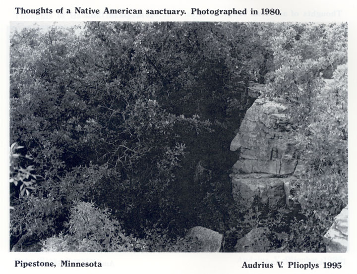 Thoughts of a Native American sanctuary.