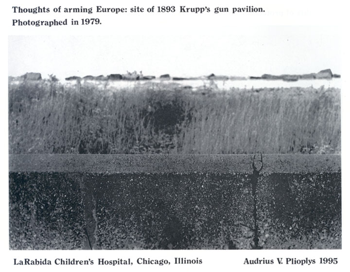 Thoughts of arming Europe: site of 1893 Krupp's gun pavillion.