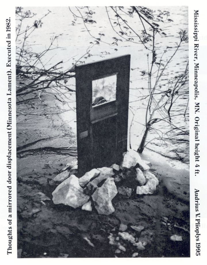 Thoughts of a mirrored door displacement (Minnesota Lament)