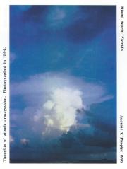 Thoughts of atomic armageddon.