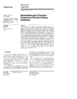Amantadine and L-carnitine treatment of Chronic Fatigue Syndrome