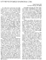 Letinis Nuovargio Sindromas (LNS; CFS). Medicina (Chicago)