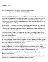 European Definition of Perinatal Asphyxial Encephalopathy
