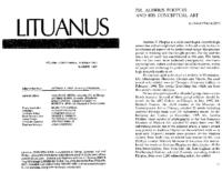"Algimantas Kezys, ""Dr. Audrius Plioplys and his conceptual art"""