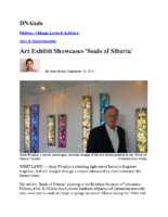 "Alex Nitkin, ""Art Exhibit Showcases 'Souls of Siberia'"", DNAinfo, September 18, 2015"