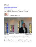 "Alex Nitkin, ""Art Exhibit Showcases 'Souls of Siberia'"", DNAinfo, September 18, 2015"