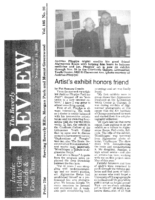 "Pat Sommers Cronin, ""Artist's exhibit honors friend"", Beverly Review, Chicago, IL, November 18, 2009"