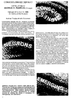 """Consciousness Defined"", Lithuanian Museum Review, Chicago, IL, November-December 1997"