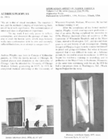 Algimantas Kezys, book chapter about art works of Audrius Plioplys, in Lithuanian Artists in North America
