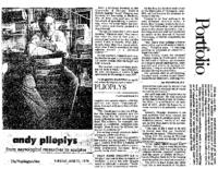 "Mary Ellen Butler, ""Andy Plioplys: From neurological researcher to sculptor,"""