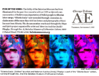 "Chicago Tribune ""Arts + Entertainment Pick of the Week"", September 3, 2015"