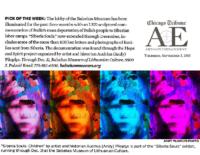 "Chicago Tribune ""Arts + Entertainment Pick of the Week"", September 3, 2015"