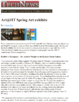 "Udayan Das, ""Art@IIT Spring Art Exhibits"", Tech News, Spring 2009"