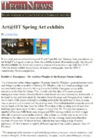"Udayan Das, ""Art@IIT Spring Art Exhibits"", Tech News, Spring 2009"