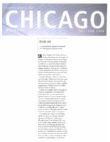 "Ruthie Kott, ""Brain Art"", University of Chicago Magazine, July-August 2008"