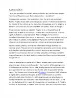 Shadi Bartsch-Zimmer, Cycles of Memory, University of Chicago, October 2018