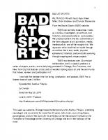 Bad at Sports June 5 2019