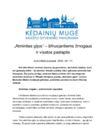 Kedainiu Muge, Feb 11, 2020