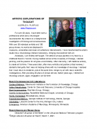 Art Resume Plioplys 2021 July