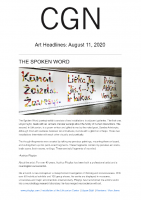 Chicago Gallery News Aug 11 2020
