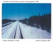 Thoughts of the Manitoba Railroad