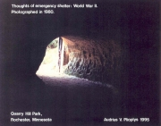 Thoughts of Emergency Shelter - WWII