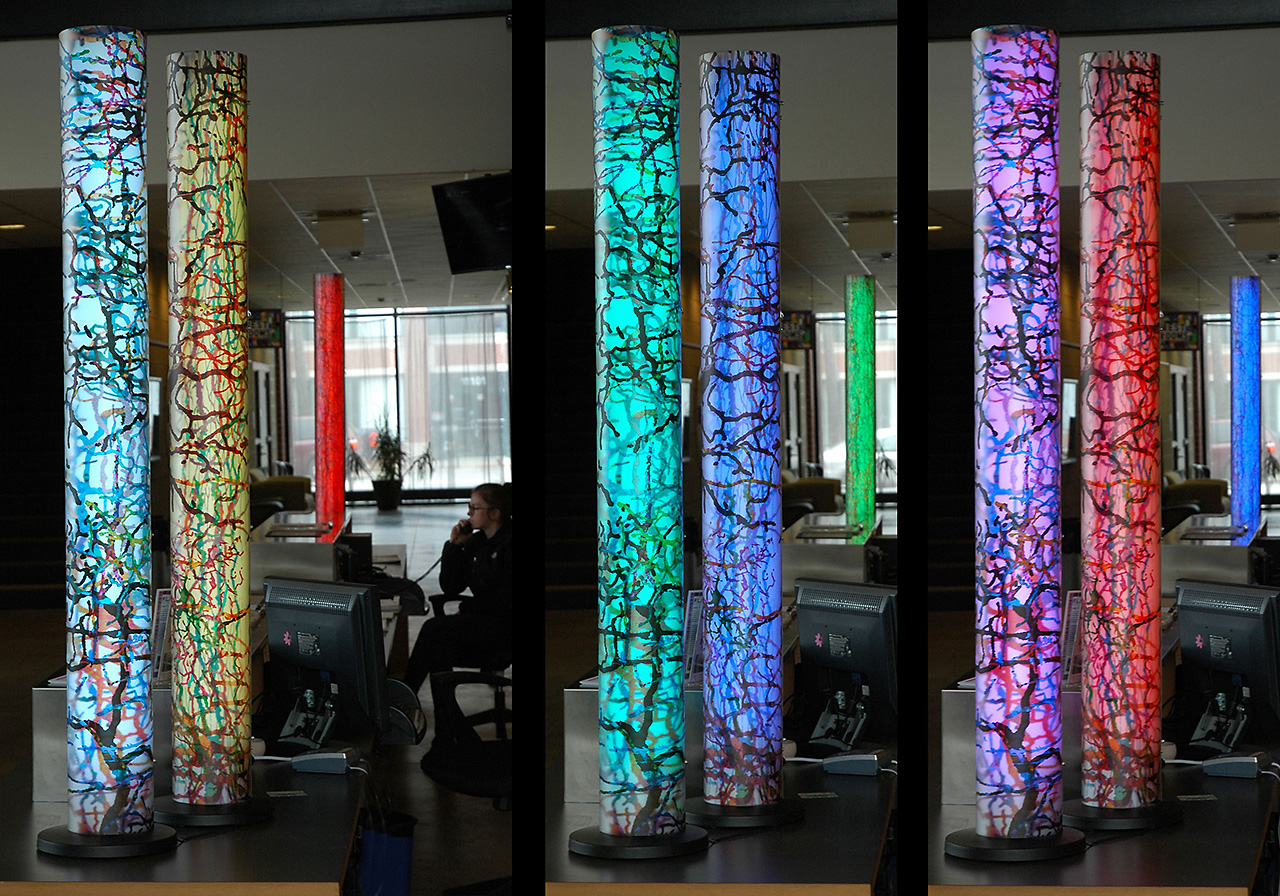 Columns of Thoughts on Permanent Display