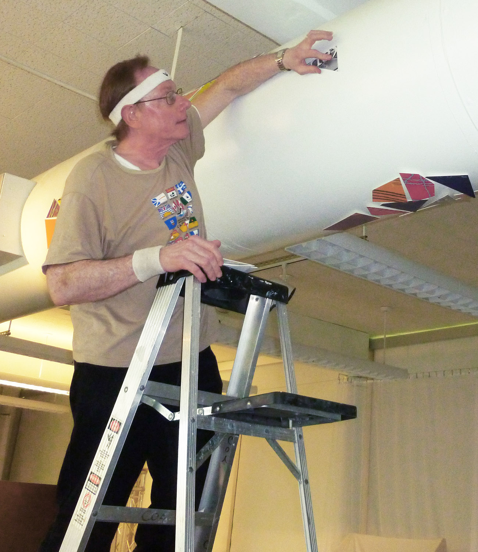 during installation